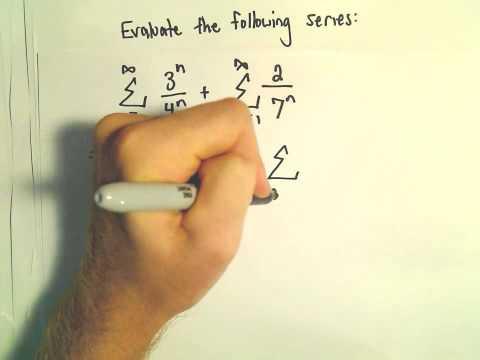 Sum of an Infinite Geometric Series, Ex 2