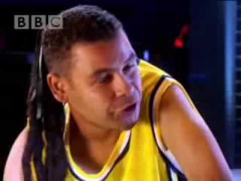 Basketball, guards vs cons - Red Dwarf - BBC comedy