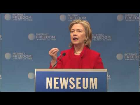 Clinton Urges Global Internet Freedom (Pt. 1)