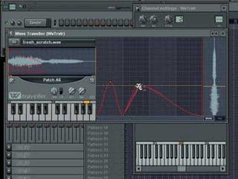 FL Studio - Wave Traveller to make DJ Scratching - Warbeats Tutorial