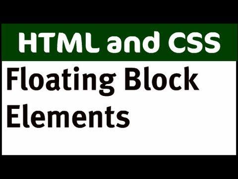 Floating Block Elements