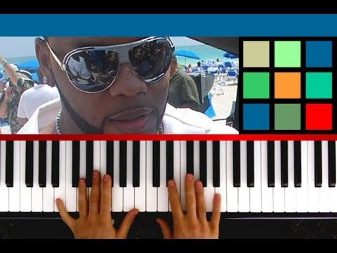 "How To Play ""Good Feeling"" Piano Tutorial / Sheet Music (Flo Rida)"