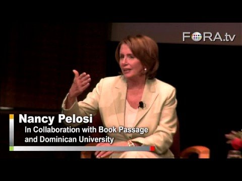 Nancy Pelosi - Advice for Women in Politics