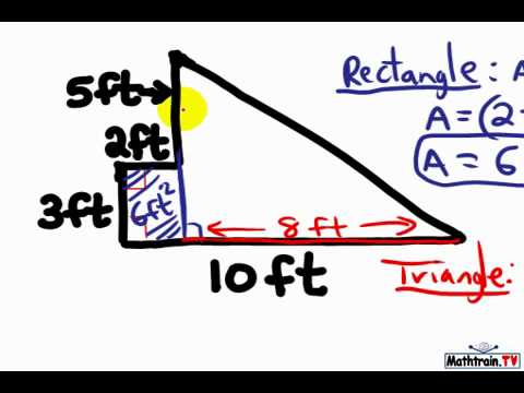 How to Find the Area of a Composite Figure