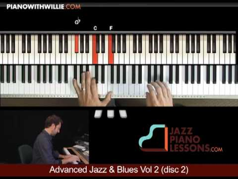 Advanced Chromatic Exercise - Jazz & Blues Vol 2  - lesson excerpt