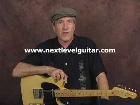 Easy Country song alternating bass notes rhythm guitar lesson learn to play tutorial