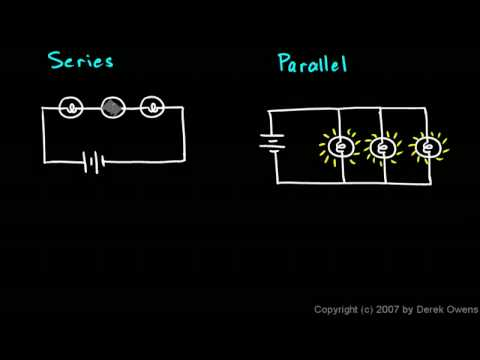 Physical Science 6.5a - Series and Parallel Circuits
