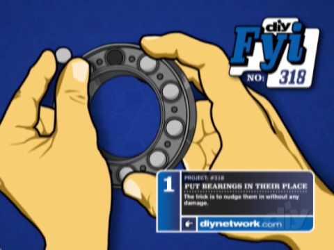 Put Bearings in Their Place-DIY