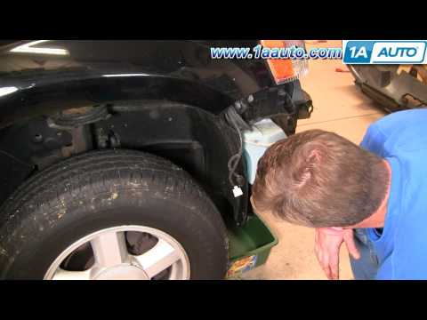 How To Install Replace Windsheild Washer Reservoir Bottle Ford Escape 01-07 1AAuto.com
