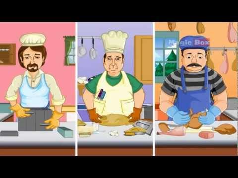 Rub a Dub Dub - English Cartoon Nursery Rhymes
