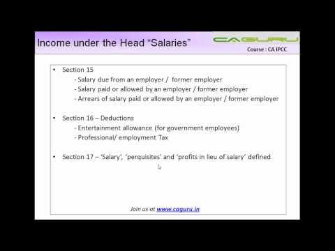 967,.IPCC Income Tax   Salaries Part V