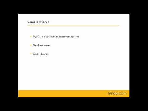 MySQL: What is MySQL? | lynda.com
