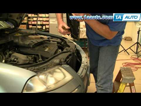 How To Install Replace Front Bumper Cover Volkswagen Passat 02-05 1AAuto.com