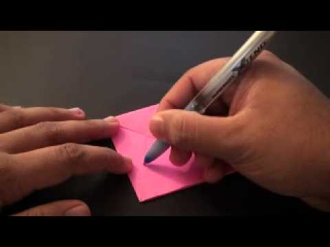 Origami Daily - 101: Easy Bunny Finger Puppet - TCGames [HD]
