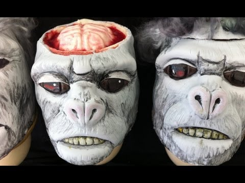 Indiana Jones Temple of Doom Monkey Brains Cakes by Ann Reardon How to Cook That