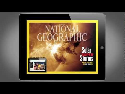 National Geographic Magazine on iPad- June 2012 Edition