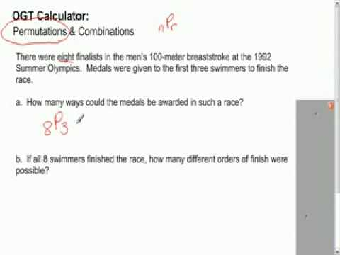 OGT Calculator Tutorial 6