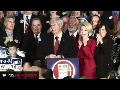 Watch Newt Gingrich's Full Super Tuesday Speech: 'We Survived Every Effort . . . to Stop Us'