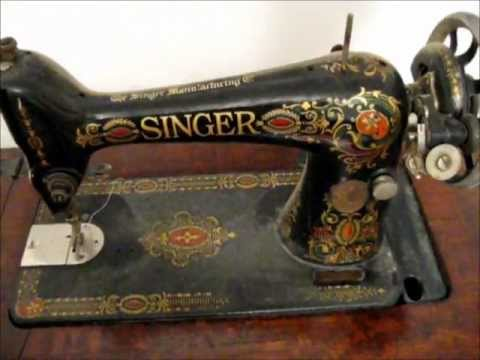 1917 Treadle Singer Sewing Machine - An awesome prepper tool