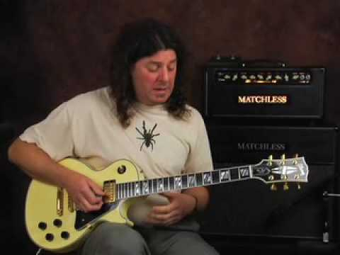 Electric Blues lead guitar licks lesson connecting scales