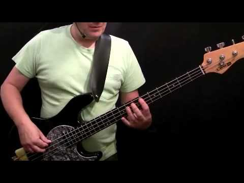 How To Play Bass Guitar To I Want You Back - Jackson 5 - Welton Felder - (Part 1)