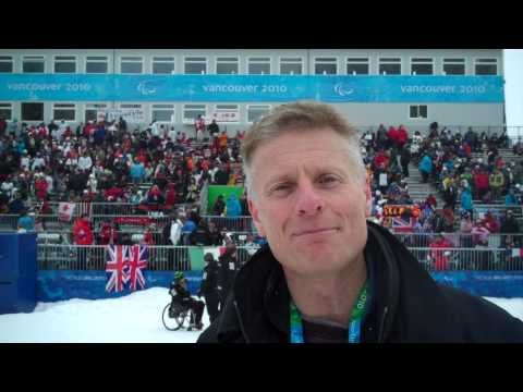 London 2012's Chief Exec. Paul in Vancouver at the Paralympic Winter Games - London 2012