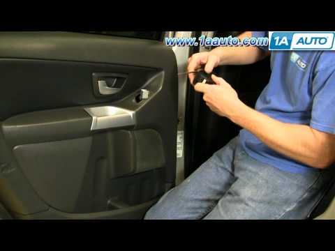 How To Install Replace Single Power Window Switch Volvo XC90 1AAuto.com
