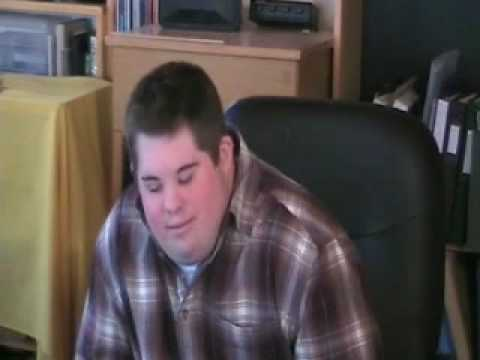 Interview with a young man with down syndrome