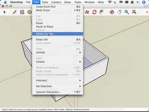 SketchUp: Making and using guides
