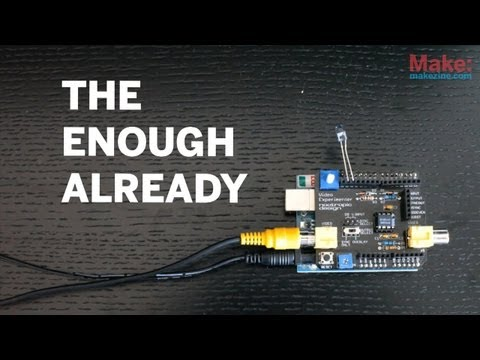 Enough Already: Silencing Celebs with Arduino