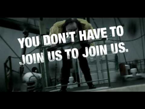 You don't have to join us to join us [HD]