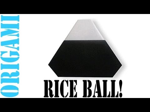 Origami Daily - 264: Rice Ball (Rice Dumpling) - TCGames [HD]