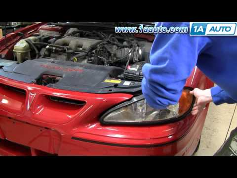 How To Install Replace Headlight Pontiac Grand Am 99-06 - 1AAuto.com