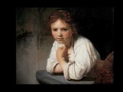 Rembrandt, A Girl at a Window, 1645