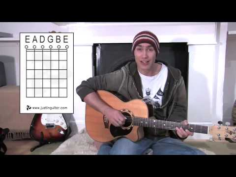 Names Of Open Strings (Guitar Lesson BC-133) Guitar for beginners Stage 3