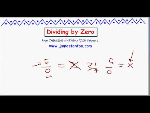 On Dividing by Zero - James Tanton