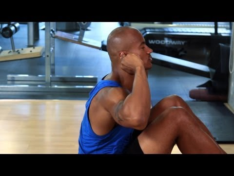 How to Do Sit Ups Properly | How to Work Out at the Gym