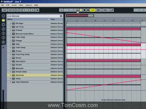 Creating A Shepard's Tone Using Ableton Live Part 2
