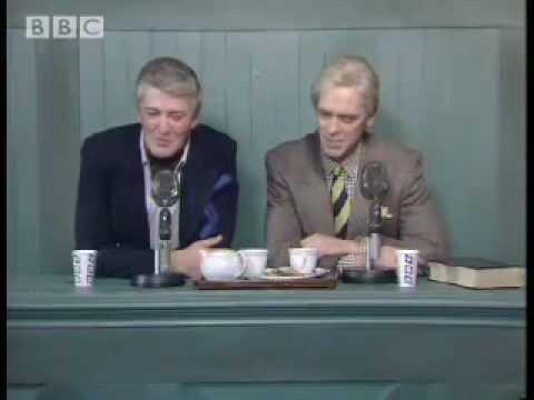 Marvellous England commentators - A Bit of Stephen Fry & Hugh Laurie - BBC comedy sketch