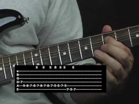 Easy blues licks guitar lesson
