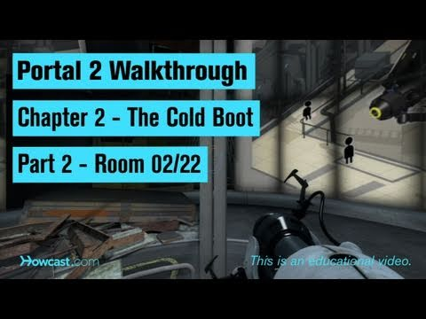 Portal 2 Walkthrough / Chapter 2 - Part 2: Room 02/22
