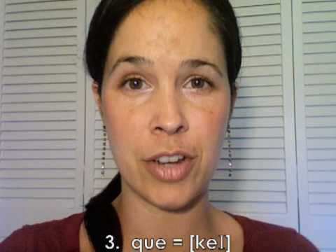 How to Pronounce 'QU':  American English