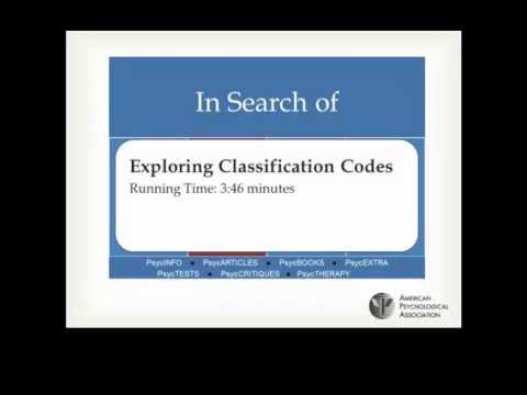 In Search of: Exploring Classification Codes Across Platforms