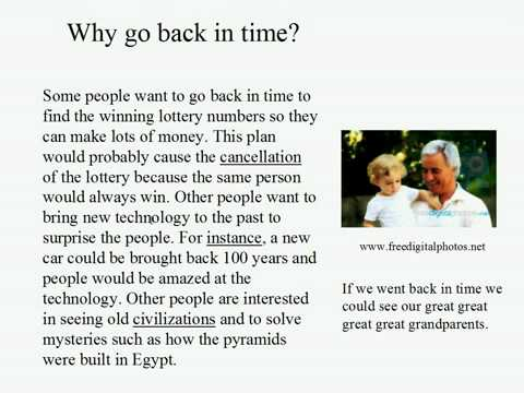 Live Intermediate English Lesson 22: Time Travel 1: Why go back in time?