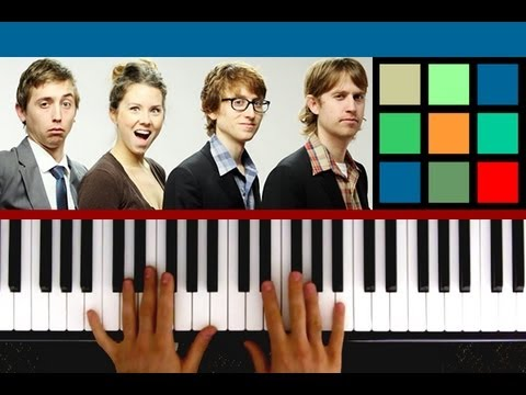 "How To Play ""Winning"" Piano Tutorial (The Gregory Brothers)"