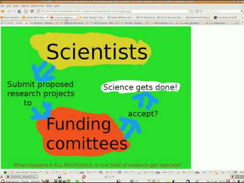 Flaws in how science is funded!