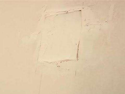 How To Repair Holes In Drywall