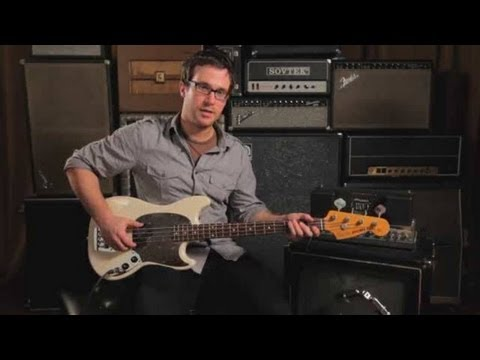 Bass Guitar Lesson: Muting