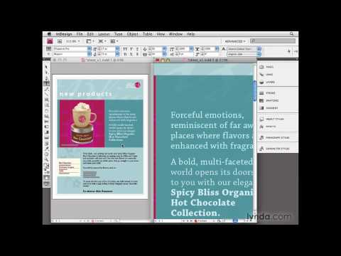 InDesign: Using the New Window feature | lynda.com