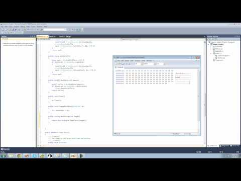 C# Beginners Tutorial - 190 - Project 6 Reading and Writing Class, Reading Strings
